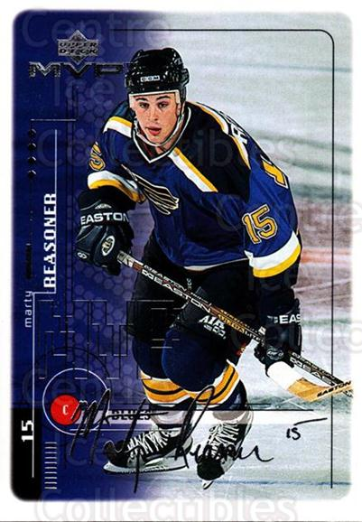 1998-99 Upper Deck MVP Silver Script #178 Marty Reasoner<br/>1 In Stock - $2.00 each - <a href=https://centericecollectibles.foxycart.com/cart?name=1998-99%20Upper%20Deck%20MVP%20Silver%20Script%20%23178%20Marty%20Reasoner...&quantity_max=1&price=$2.00&code=317630 class=foxycart> Buy it now! </a>