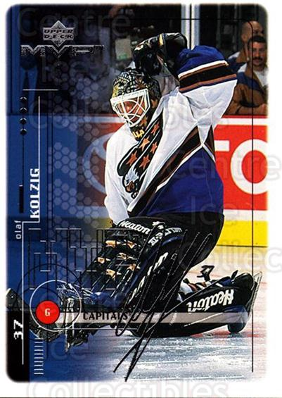 1998-99 Upper Deck MVP Silver Script #210 Olaf Kolzig<br/>2 In Stock - $2.00 each - <a href=https://centericecollectibles.foxycart.com/cart?name=1998-99%20Upper%20Deck%20MVP%20Silver%20Script%20%23210%20Olaf%20Kolzig...&quantity_max=2&price=$2.00&code=317667 class=foxycart> Buy it now! </a>