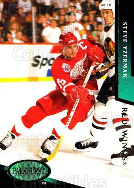 1993-94 Parkhurst Emerald #326 Steve Yzerman<br/>1 In Stock - $5.00 each - <a href=https://centericecollectibles.foxycart.com/cart?name=1993-94%20Parkhurst%20Emerald%20%23326%20Steve%20Yzerman...&price=$5.00&code=318051 class=foxycart> Buy it now! </a>