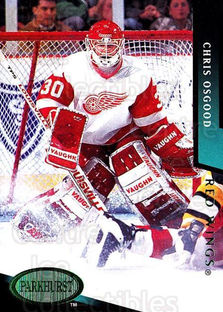 1993-94 Parkhurst Emerald #329 Chris Osgood<br/>1 In Stock - $5.00 each - <a href=https://centericecollectibles.foxycart.com/cart?name=1993-94%20Parkhurst%20Emerald%20%23329%20Chris%20Osgood...&price=$5.00&code=318052 class=foxycart> Buy it now! </a>