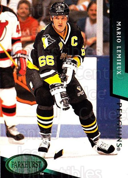 1993-94 Parkhurst Emerald #425 Mario Lemieux<br/>1 In Stock - $5.00 each - <a href=https://centericecollectibles.foxycart.com/cart?name=1993-94%20Parkhurst%20Emerald%20%23425%20Mario%20Lemieux...&price=$5.00&code=318057 class=foxycart> Buy it now! </a>
