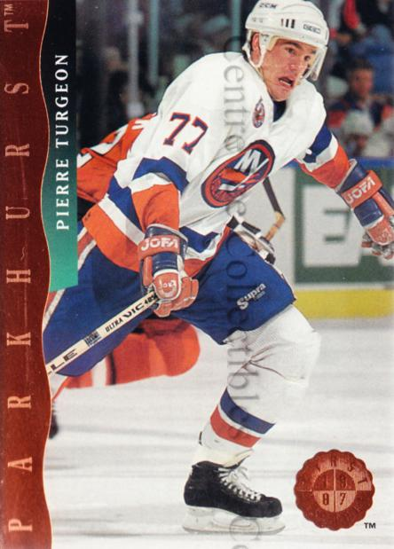 1993-94 Parkhurst First Overall #7 Pierre Turgeon<br/>1 In Stock - $5.00 each - <a href=https://centericecollectibles.foxycart.com/cart?name=1993-94%20Parkhurst%20First%20Overall%20%237%20Pierre%20Turgeon...&quantity_max=1&price=$5.00&code=318078 class=foxycart> Buy it now! </a>