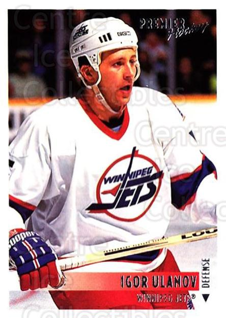 1994-95 OPC Premier #179 Igor Ulanov<br/>6 In Stock - $1.00 each - <a href=https://centericecollectibles.foxycart.com/cart?name=1994-95%20OPC%20Premier%20%23179%20Igor%20Ulanov...&quantity_max=6&price=$1.00&code=31863 class=foxycart> Buy it now! </a>