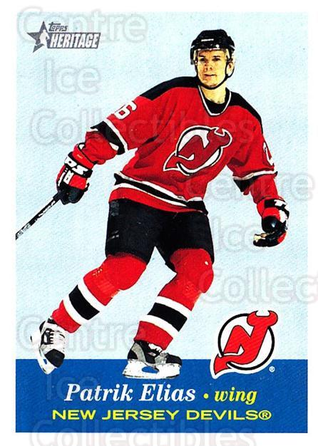 2001-02 Topps Heritage #4 Patrik Elias<br/>5 In Stock - $1.00 each - <a href=https://centericecollectibles.foxycart.com/cart?name=2001-02%20Topps%20Heritage%20%234%20Patrik%20Elias...&quantity_max=5&price=$1.00&code=319626 class=foxycart> Buy it now! </a>