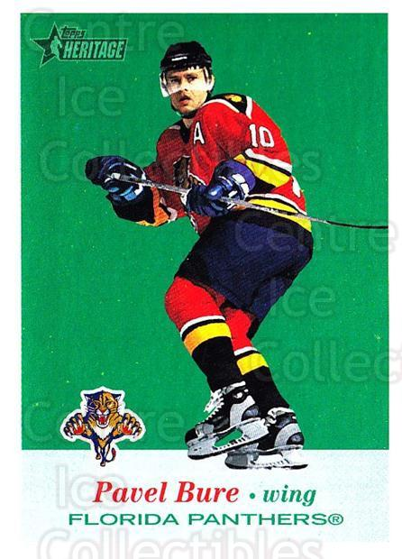 2001-02 Topps Heritage #11 Pavel Bure<br/>6 In Stock - $1.00 each - <a href=https://centericecollectibles.foxycart.com/cart?name=2001-02%20Topps%20Heritage%20%2311%20Pavel%20Bure...&quantity_max=6&price=$1.00&code=319633 class=foxycart> Buy it now! </a>