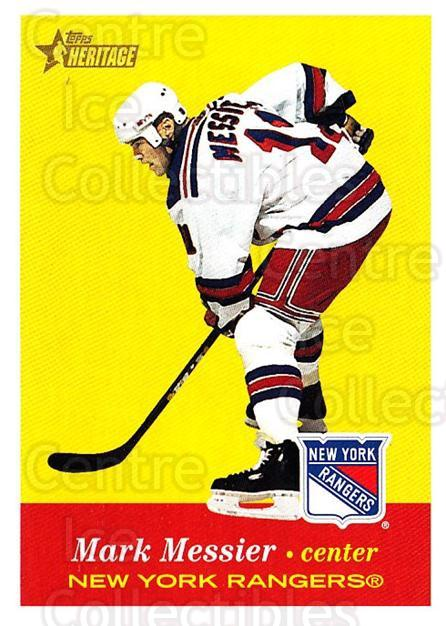 2001-02 Topps Heritage #14 Mark Messier<br/>6 In Stock - $1.00 each - <a href=https://centericecollectibles.foxycart.com/cart?name=2001-02%20Topps%20Heritage%20%2314%20Mark%20Messier...&quantity_max=6&price=$1.00&code=319636 class=foxycart> Buy it now! </a>