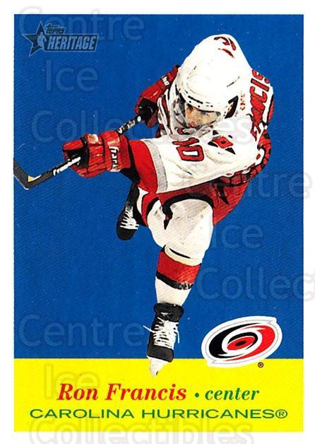 2001-02 Topps Heritage #22 Ron Francis<br/>5 In Stock - $1.00 each - <a href=https://centericecollectibles.foxycart.com/cart?name=2001-02%20Topps%20Heritage%20%2322%20Ron%20Francis...&quantity_max=5&price=$1.00&code=319644 class=foxycart> Buy it now! </a>