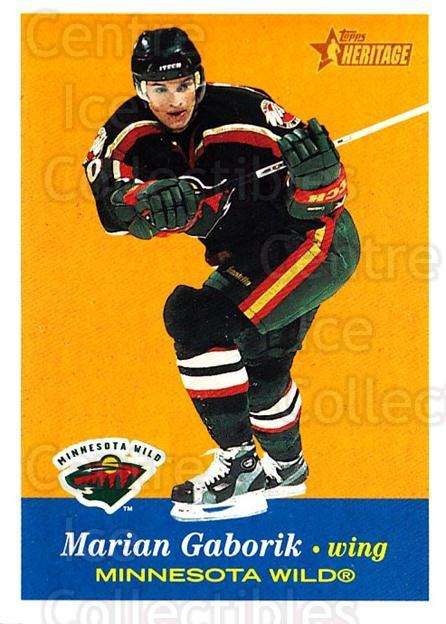 2001-02 Topps Heritage #29 Marian Gaborik<br/>7 In Stock - $1.00 each - <a href=https://centericecollectibles.foxycart.com/cart?name=2001-02%20Topps%20Heritage%20%2329%20Marian%20Gaborik...&quantity_max=7&price=$1.00&code=319651 class=foxycart> Buy it now! </a>