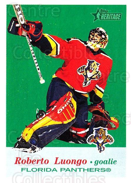 2001-02 Topps Heritage #32 Roberto Luongo<br/>5 In Stock - $2.00 each - <a href=https://centericecollectibles.foxycart.com/cart?name=2001-02%20Topps%20Heritage%20%2332%20Roberto%20Luongo...&quantity_max=5&price=$2.00&code=319654 class=foxycart> Buy it now! </a>