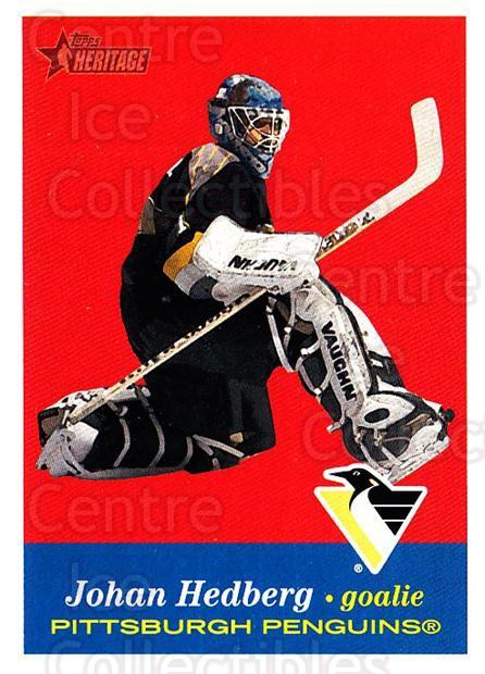 2001-02 Topps Heritage #37 Johan Hedberg<br/>7 In Stock - $1.00 each - <a href=https://centericecollectibles.foxycart.com/cart?name=2001-02%20Topps%20Heritage%20%2337%20Johan%20Hedberg...&quantity_max=7&price=$1.00&code=319659 class=foxycart> Buy it now! </a>
