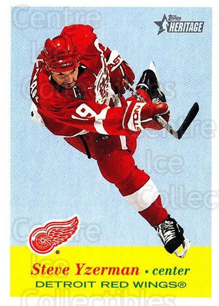 2001-02 Topps Heritage #38 Steve Yzerman<br/>4 In Stock - $2.00 each - <a href=https://centericecollectibles.foxycart.com/cart?name=2001-02%20Topps%20Heritage%20%2338%20Steve%20Yzerman...&quantity_max=4&price=$2.00&code=319660 class=foxycart> Buy it now! </a>