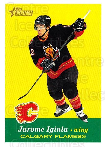 2001-02 Topps Heritage #40 Jarome Iginla<br/>6 In Stock - $1.00 each - <a href=https://centericecollectibles.foxycart.com/cart?name=2001-02%20Topps%20Heritage%20%2340%20Jarome%20Iginla...&quantity_max=6&price=$1.00&code=319662 class=foxycart> Buy it now! </a>