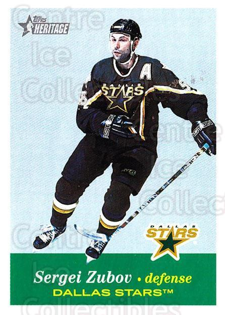2001-02 Topps Heritage #104 Sergei Zubov<br/>6 In Stock - $1.00 each - <a href=https://centericecollectibles.foxycart.com/cart?name=2001-02%20Topps%20Heritage%20%23104%20Sergei%20Zubov...&quantity_max=6&price=$1.00&code=319726 class=foxycart> Buy it now! </a>