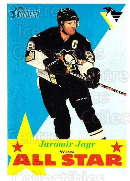 2001-02 Topps Heritage #113 Jaromir Jagr<br/>1 In Stock - $2.00 each - <a href=https://centericecollectibles.foxycart.com/cart?name=2001-02%20Topps%20Heritage%20%23113%20Jaromir%20Jagr...&quantity_max=1&price=$2.00&code=319735 class=foxycart> Buy it now! </a>