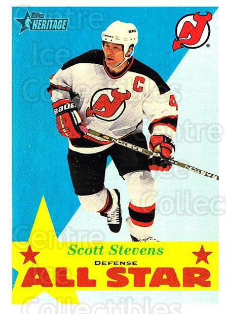 2001-02 Topps Heritage #118 Scott Stevens<br/>6 In Stock - $1.00 each - <a href=https://centericecollectibles.foxycart.com/cart?name=2001-02%20Topps%20Heritage%20%23118%20Scott%20Stevens...&quantity_max=6&price=$1.00&code=319740 class=foxycart> Buy it now! </a>