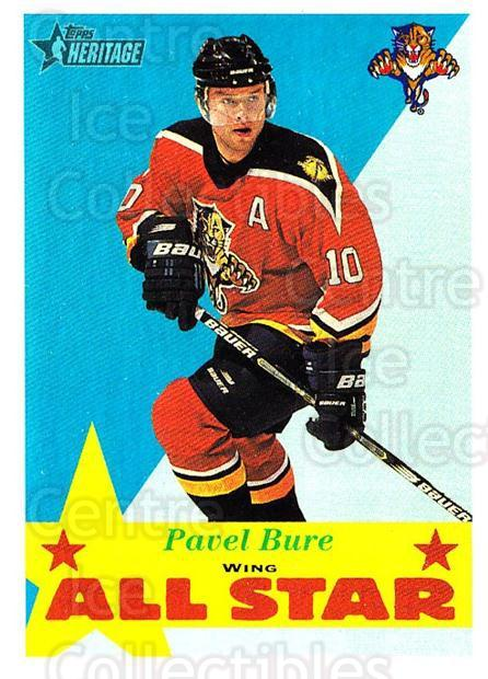 2001-02 Topps Heritage #121 Pavel Bure<br/>7 In Stock - $1.00 each - <a href=https://centericecollectibles.foxycart.com/cart?name=2001-02%20Topps%20Heritage%20%23121%20Pavel%20Bure...&quantity_max=7&price=$1.00&code=319743 class=foxycart> Buy it now! </a>