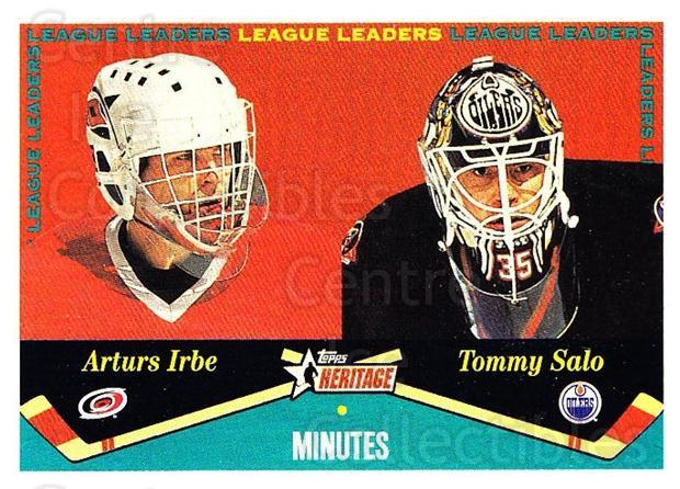 2001-02 Topps Heritage #127 Arturs Irbe, Tommy Salo<br/>6 In Stock - $1.00 each - <a href=https://centericecollectibles.foxycart.com/cart?name=2001-02%20Topps%20Heritage%20%23127%20Arturs%20Irbe,%20To...&quantity_max=6&price=$1.00&code=319749 class=foxycart> Buy it now! </a>