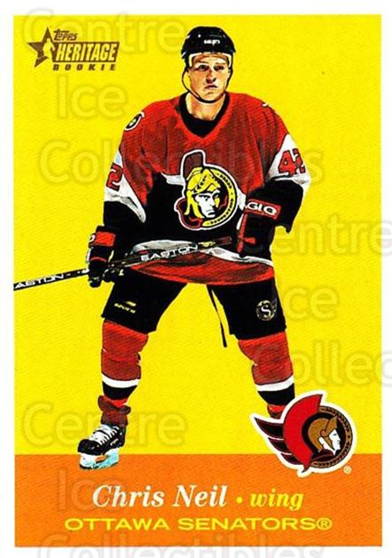 2001-02 Topps Heritage #153 Chris Neil<br/>3 In Stock - $3.00 each - <a href=https://centericecollectibles.foxycart.com/cart?name=2001-02%20Topps%20Heritage%20%23153%20Chris%20Neil...&quantity_max=3&price=$3.00&code=319775 class=foxycart> Buy it now! </a>