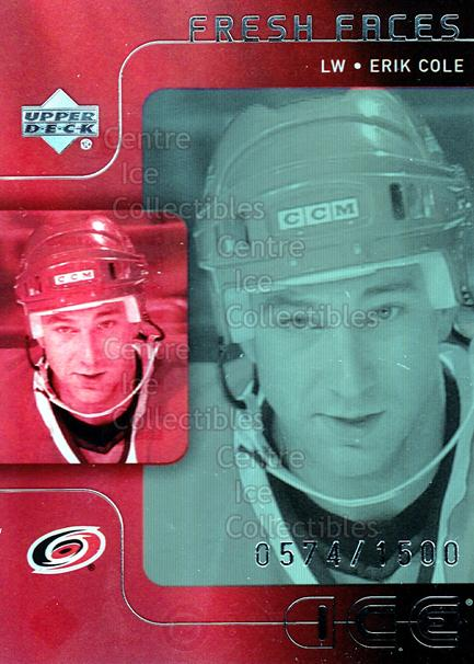 2001-02 UD Ice #48 Erik Cole<br/>1 In Stock - $5.00 each - <a href=https://centericecollectibles.foxycart.com/cart?name=2001-02%20UD%20Ice%20%2348%20Erik%20Cole...&quantity_max=1&price=$5.00&code=320050 class=foxycart> Buy it now! </a>
