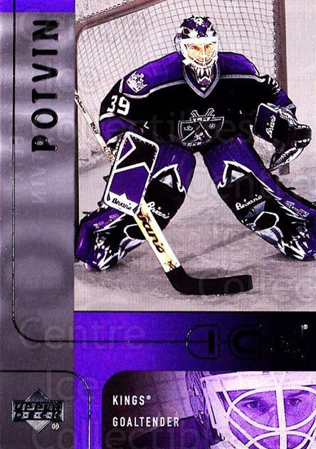 2001-02 UD Ice #101 Felix Potvin<br/>1 In Stock - $1.00 each - <a href=https://centericecollectibles.foxycart.com/cart?name=2001-02%20UD%20Ice%20%23101%20Felix%20Potvin...&quantity_max=1&price=$1.00&code=320075 class=foxycart> Buy it now! </a>