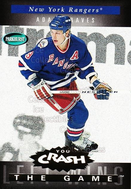1994-95 Parkhurst Crash the Game Gold #G15 Adam Graves<br/>9 In Stock - $1.00 each - <a href=https://centericecollectibles.foxycart.com/cart?name=1994-95%20Parkhurst%20Crash%20the%20Game%20Gold%20%23G15%20Adam%20Graves...&quantity_max=9&price=$1.00&code=32072 class=foxycart> Buy it now! </a>