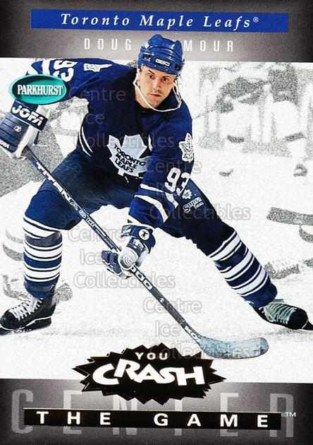 1994-95 Parkhurst Crash the Game Gold #G23 Doug Gilmour<br/>8 In Stock - $1.00 each - <a href=https://centericecollectibles.foxycart.com/cart?name=1994-95%20Parkhurst%20Crash%20the%20Game%20Gold%20%23G23%20Doug%20Gilmour...&quantity_max=8&price=$1.00&code=32078 class=foxycart> Buy it now! </a>