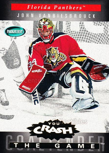 1994-95 Parkhurst Crash the Game Gold #G09 John Vanbiesbrouck<br/>7 In Stock - $1.00 each - <a href=https://centericecollectibles.foxycart.com/cart?name=1994-95%20Parkhurst%20Crash%20the%20Game%20Gold%20%23G09%20John%20Vanbiesbro...&quantity_max=7&price=$1.00&code=32086 class=foxycart> Buy it now! </a>