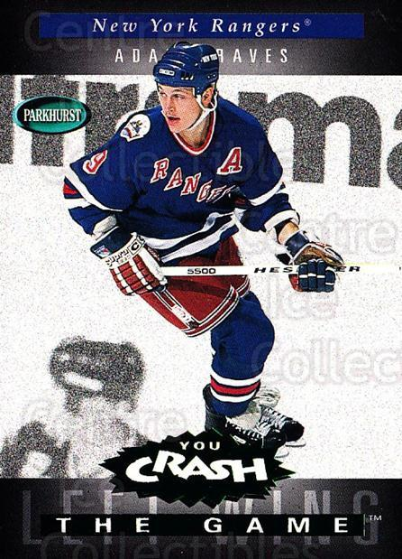 1994-95 Parkhurst Crash the Game Emerald #H15 Adam Graves<br/>2 In Stock - $3.00 each - <a href=https://centericecollectibles.foxycart.com/cart?name=1994-95%20Parkhurst%20Crash%20the%20Game%20Emerald%20%23H15%20Adam%20Graves...&quantity_max=2&price=$3.00&code=32091 class=foxycart> Buy it now! </a>