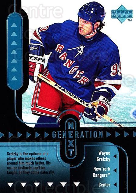 1998-99 Upper Deck Generation Next #2 Marian Hossa, Wayne Gretzky<br/>2 In Stock - $10.00 each - <a href=https://centericecollectibles.foxycart.com/cart?name=1998-99%20Upper%20Deck%20Generation%20Next%20%232%20Marian%20Hossa,%20W...&quantity_max=2&price=$10.00&code=320972 class=foxycart> Buy it now! </a>