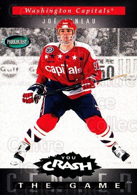 1994-95 Parkhurst Crash the Game Emerald #H25 Joe Juneau<br/>1 In Stock - $3.00 each - <a href=https://centericecollectibles.foxycart.com/cart?name=1994-95%20Parkhurst%20Crash%20the%20Game%20Emerald%20%23H25%20Joe%20Juneau...&quantity_max=1&price=$3.00&code=32098 class=foxycart> Buy it now! </a>