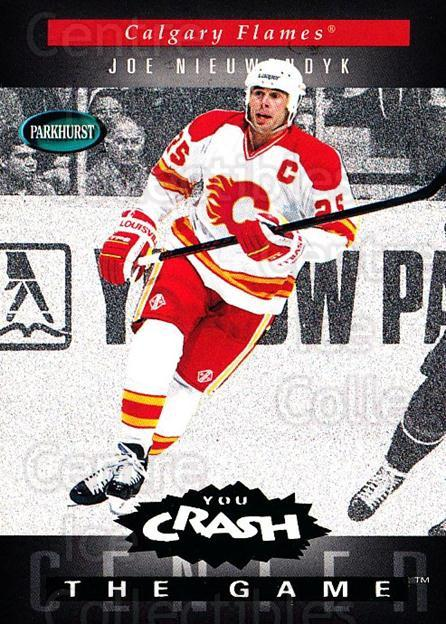 1994-95 Parkhurst Crash the Game Emerald #H04 Joe Nieuwendyk<br/>1 In Stock - $3.00 each - <a href=https://centericecollectibles.foxycart.com/cart?name=1994-95%20Parkhurst%20Crash%20the%20Game%20Emerald%20%23H04%20Joe%20Nieuwendyk...&quantity_max=1&price=$3.00&code=32101 class=foxycart> Buy it now! </a>