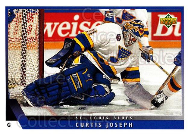 1993-94 Upper Deck #157 Curtis Joseph<br/>12 In Stock - $1.00 each - <a href=https://centericecollectibles.foxycart.com/cart?name=1993-94%20Upper%20Deck%20%23157%20Curtis%20Joseph...&quantity_max=12&price=$1.00&code=3211 class=foxycart> Buy it now! </a>