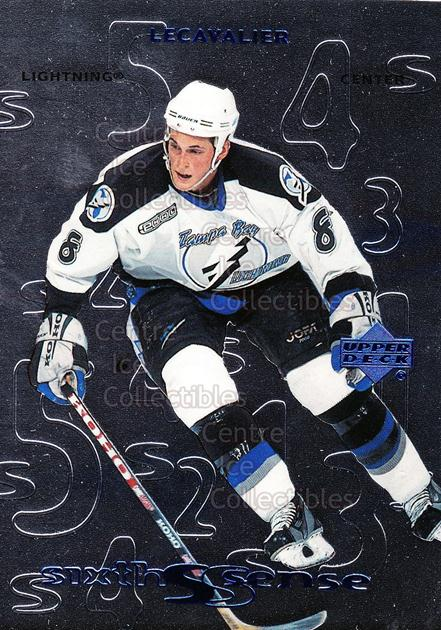 1999-00 Upper Deck Sixth Sense #18 Vincent Lecavalier<br/>9 In Stock - $2.00 each - <a href=https://centericecollectibles.foxycart.com/cart?name=1999-00%20Upper%20Deck%20Sixth%20Sense%20%2318%20Vincent%20Lecaval...&quantity_max=9&price=$2.00&code=321716 class=foxycart> Buy it now! </a>