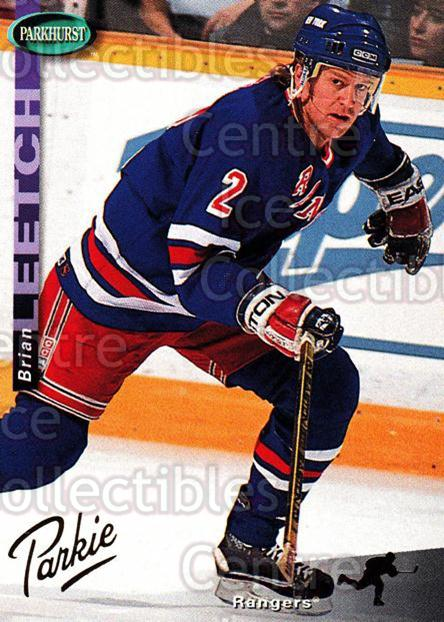 1994-95 Parkhurst Gold #151 Brian Leetch<br/>3 In Stock - $2.00 each - <a href=https://centericecollectibles.foxycart.com/cart?name=1994-95%20Parkhurst%20Gold%20%23151%20Brian%20Leetch...&quantity_max=3&price=$2.00&code=32178 class=foxycart> Buy it now! </a>