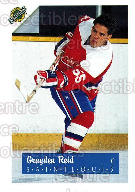 1991 Ultimate Draft French #53 Grayden Reid<br/>13 In Stock - $1.00 each - <a href=https://centericecollectibles.foxycart.com/cart?name=1991%20Ultimate%20Draft%20French%20%2353%20Grayden%20Reid...&quantity_max=13&price=$1.00&code=321 class=foxycart> Buy it now! </a>