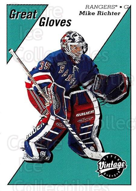 2000-01 UD Vintage Great Gloves #12 Mike Richter<br/>1 In Stock - $2.00 each - <a href=https://centericecollectibles.foxycart.com/cart?name=2000-01%20UD%20Vintage%20Great%20Gloves%20%2312%20Mike%20Richter...&quantity_max=1&price=$2.00&code=322906 class=foxycart> Buy it now! </a>