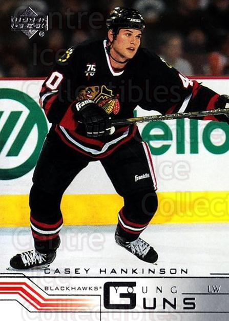 2001-02 Upper Deck #184 Casey Hankinson<br/>1 In Stock - $5.00 each - <a href=https://centericecollectibles.foxycart.com/cart?name=2001-02%20Upper%20Deck%20%23184%20Casey%20Hankinson...&quantity_max=1&price=$5.00&code=323410 class=foxycart> Buy it now! </a>