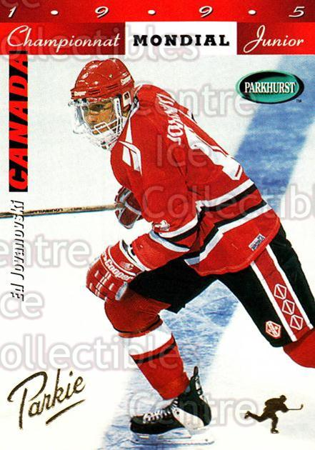 1994-95 Parkhurst SE Gold #207 Ed Jovanovski<br/>2 In Stock - $2.00 each - <a href=https://centericecollectibles.foxycart.com/cart?name=1994-95%20Parkhurst%20SE%20Gold%20%23207%20Ed%20Jovanovski...&quantity_max=2&price=$2.00&code=32379 class=foxycart> Buy it now! </a>