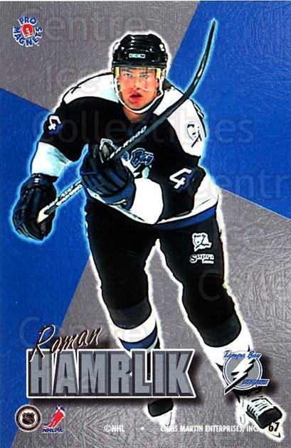 1995-96 Pro Magnets Promo #67 Roman Hamrlik<br/>1 In Stock - $10.00 each - <a href=https://centericecollectibles.foxycart.com/cart?name=1995-96%20Pro%20Magnets%20Promo%20%2367%20Roman%20Hamrlik...&quantity_max=1&price=$10.00&code=324215 class=foxycart> Buy it now! </a>