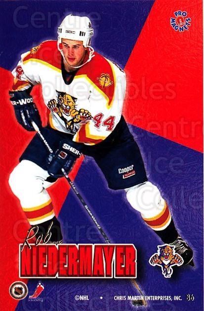 1995-96 Pro Magnets Promo #86 Rob Niedermayer<br/>2 In Stock - $10.00 each - <a href=https://centericecollectibles.foxycart.com/cart?name=1995-96%20Pro%20Magnets%20Promo%20%2386%20Rob%20Niedermayer...&quantity_max=2&price=$10.00&code=324224 class=foxycart> Buy it now! </a>