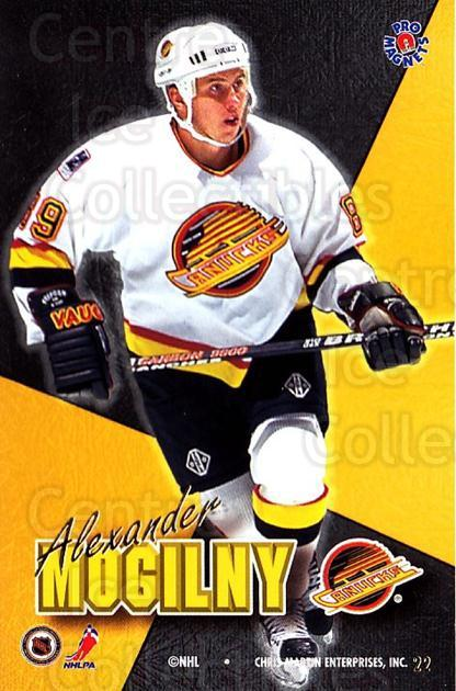 1995-96 Pro Magnets Promo #22 Alexander Mogilny<br/>1 In Stock - $10.00 each - <a href=https://centericecollectibles.foxycart.com/cart?name=1995-96%20Pro%20Magnets%20Promo%20%2322%20Alexander%20Mogil...&quantity_max=1&price=$10.00&code=324246 class=foxycart> Buy it now! </a>