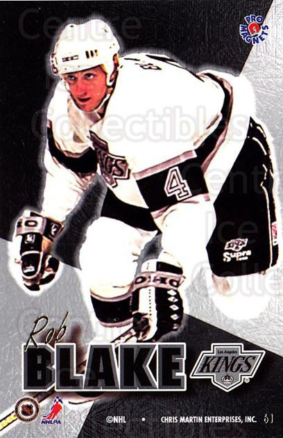 1995-96 Pro Magnets Promo #61 Rob Blake<br/>3 In Stock - $10.00 each - <a href=https://centericecollectibles.foxycart.com/cart?name=1995-96%20Pro%20Magnets%20Promo%20%2361%20Rob%20Blake...&quantity_max=3&price=$10.00&code=324259 class=foxycart> Buy it now! </a>