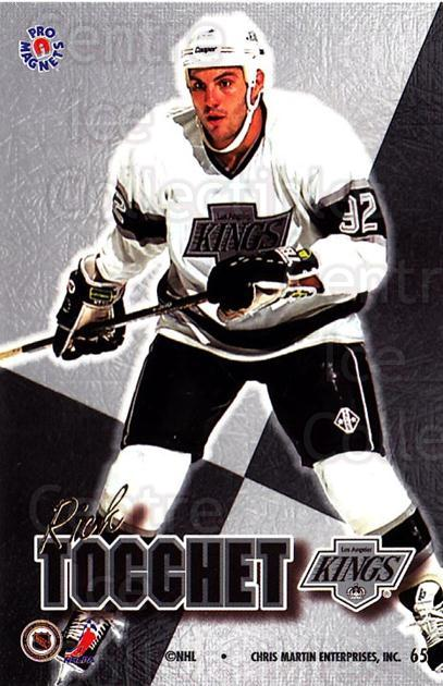 1995-96 Pro Magnets Promo #65 Rick Tocchet<br/>2 In Stock - $10.00 each - <a href=https://centericecollectibles.foxycart.com/cart?name=1995-96%20Pro%20Magnets%20Promo%20%2365%20Rick%20Tocchet...&quantity_max=2&price=$10.00&code=324261 class=foxycart> Buy it now! </a>