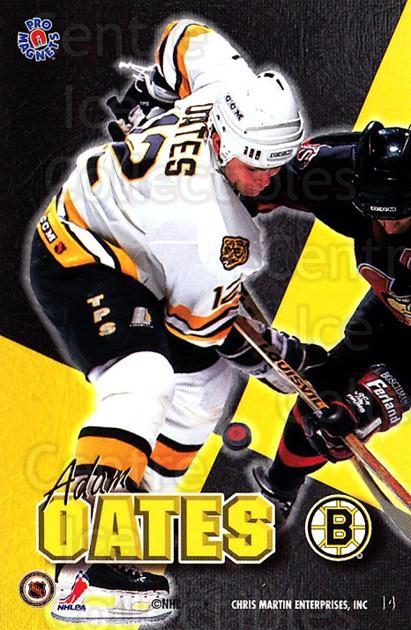 1995-96 Pro Magnets Promo #14 Adam Oates<br/>2 In Stock - $10.00 each - <a href=https://centericecollectibles.foxycart.com/cart?name=1995-96%20Pro%20Magnets%20Promo%20%2314%20Adam%20Oates...&quantity_max=2&price=$10.00&code=324285 class=foxycart> Buy it now! </a>