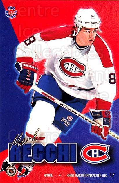 1995-96 Pro Magnets Promo #17 Mark Recchi<br/>2 In Stock - $10.00 each - <a href=https://centericecollectibles.foxycart.com/cart?name=1995-96%20Pro%20Magnets%20Promo%20%2317%20Mark%20Recchi...&quantity_max=2&price=$10.00&code=324286 class=foxycart> Buy it now! </a>