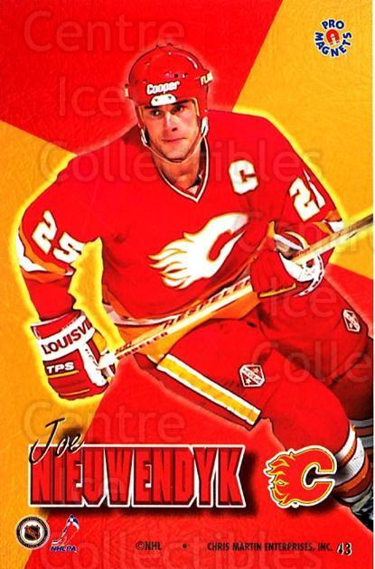 1995-96 Pro Magnets Promo #43 Joe Nieuwendyk<br/>1 In Stock - $10.00 each - <a href=https://centericecollectibles.foxycart.com/cart?name=1995-96%20Pro%20Magnets%20Promo%20%2343%20Joe%20Nieuwendyk...&quantity_max=1&price=$10.00&code=324288 class=foxycart> Buy it now! </a>