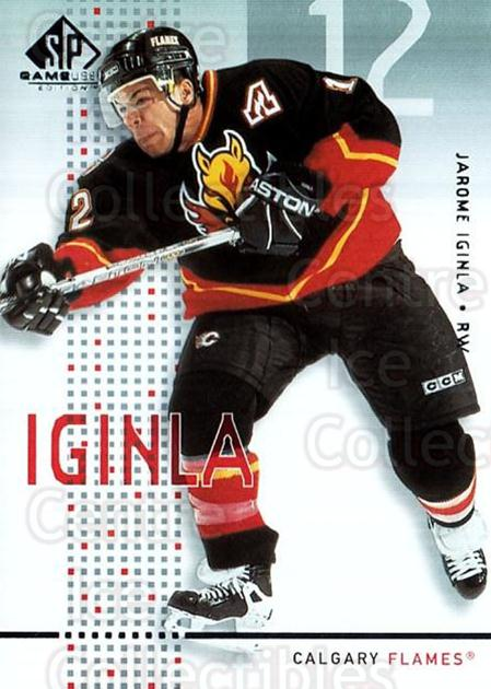 2002-03 SP Game Used #7 Jarome Iginla<br/>7 In Stock - $2.00 each - <a href=https://centericecollectibles.foxycart.com/cart?name=2002-03%20SP%20Game%20Used%20%237%20Jarome%20Iginla...&quantity_max=7&price=$2.00&code=324326 class=foxycart> Buy it now! </a>