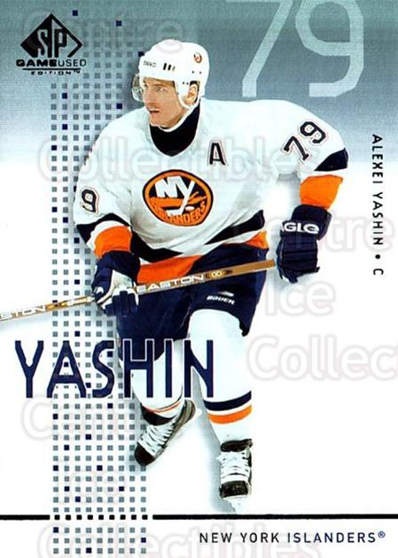 2002-03 SP Game Used #31 Alexei Yashin<br/>3 In Stock - $2.00 each - <a href=https://centericecollectibles.foxycart.com/cart?name=2002-03%20SP%20Game%20Used%20%2331%20Alexei%20Yashin...&quantity_max=3&price=$2.00&code=324334 class=foxycart> Buy it now! </a>