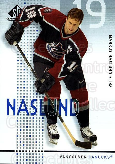 2002-03 SP Game Used #48 Markus Naslund<br/>3 In Stock - $2.00 each - <a href=https://centericecollectibles.foxycart.com/cart?name=2002-03%20SP%20Game%20Used%20%2348%20Markus%20Naslund...&quantity_max=3&price=$2.00&code=324338 class=foxycart> Buy it now! </a>