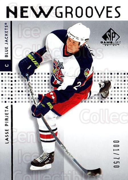 2002-03 SP Game Used #74 Lasse Pirjeta<br/>1 In Stock - $5.00 each - <a href=https://centericecollectibles.foxycart.com/cart?name=2002-03%20SP%20Game%20Used%20%2374%20Lasse%20Pirjeta...&quantity_max=1&price=$5.00&code=324354 class=foxycart> Buy it now! </a>